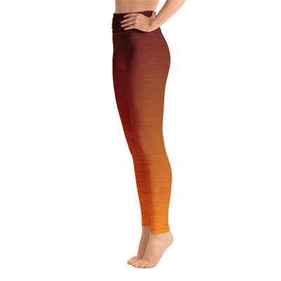 Core Orange High Waist WAYleggings