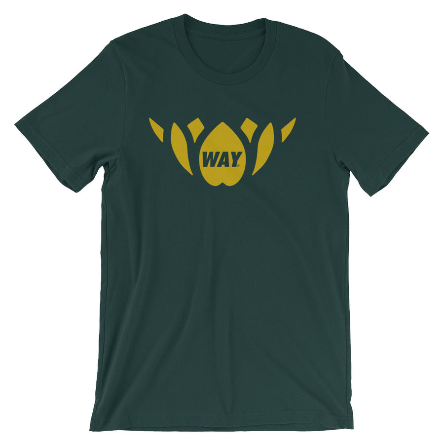 Green + Gold Lotus Team Tee