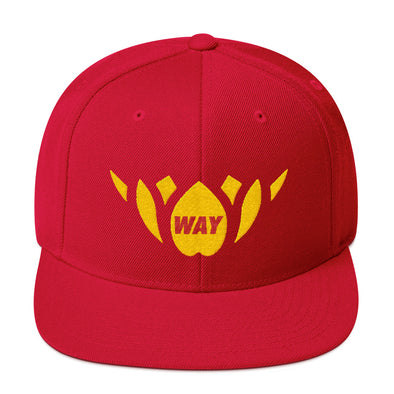 Red & Gold-Snapback Hat