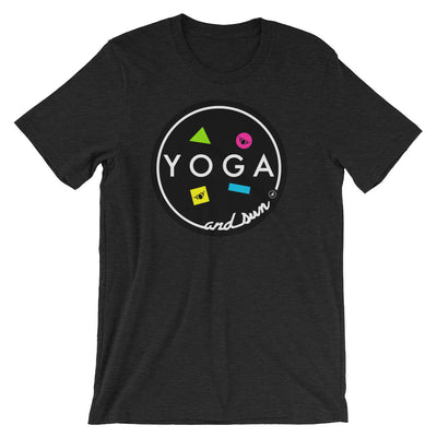 YOGA AND SUN-Short-Sleeve Unisex T-Shirt