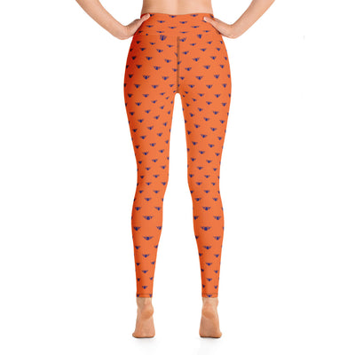 Orange & Blue Team Leggings