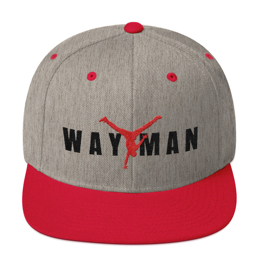 WAY MAN BLK-Snapback Hat