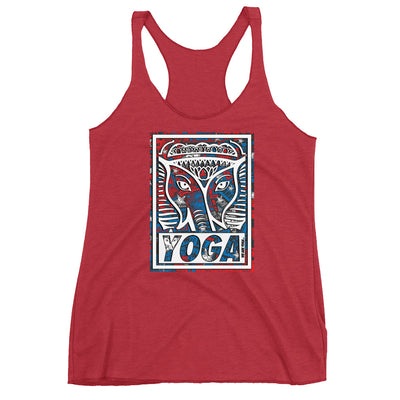 YOGA + US WAY Racerback Tank