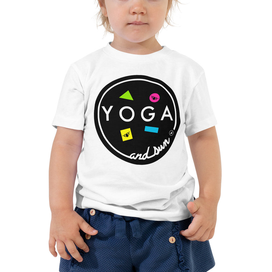 Yoga and Sun Toddler Tee