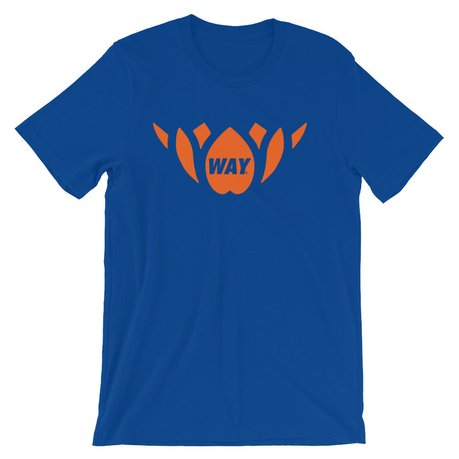 Blue + Orange Lotus Team Tee