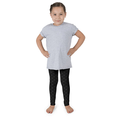 WAY Kids Leggings Black and Grey Lotus