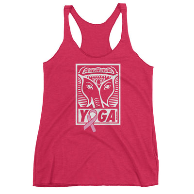YOGA for the Cure Stamp Racerback Tank