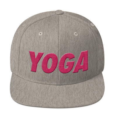 YOGA for the Cure Snapback - more colors available