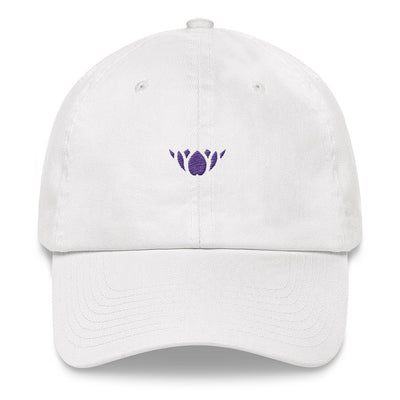 Black & Purple Lotus-Club hat