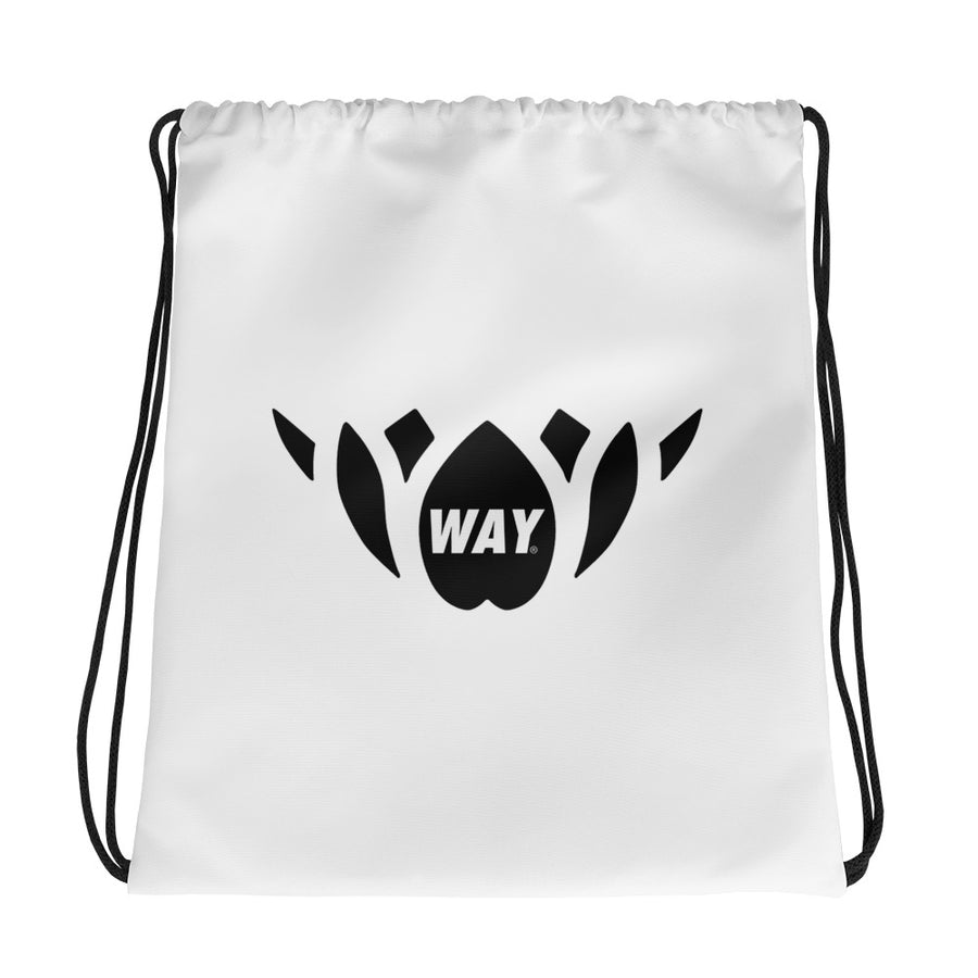WAY Lotus Drawstring bag