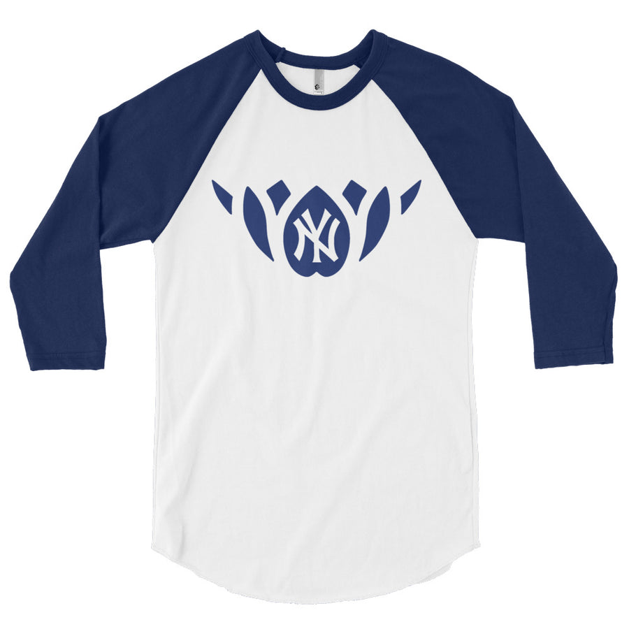 NY WAY-3/4 sleeve raglan shirt