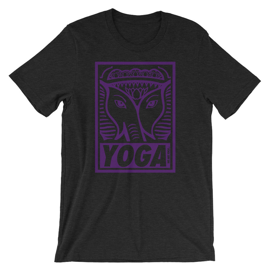 Black + Purple Stamp Team Tee