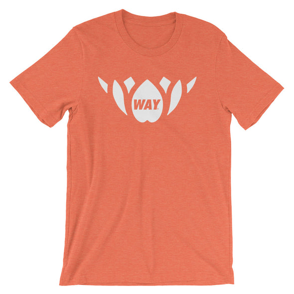 Orange + White Lotus Team Tee