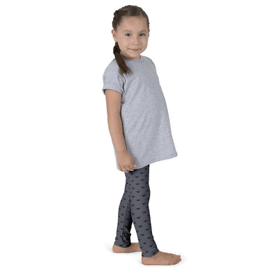 WAY Kids Leggings Grey and Black Lotus