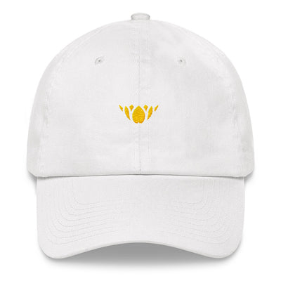 Yellow/Gold Lotus-Club hat