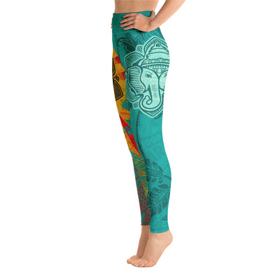 WAY OBEY SUN-Leggings