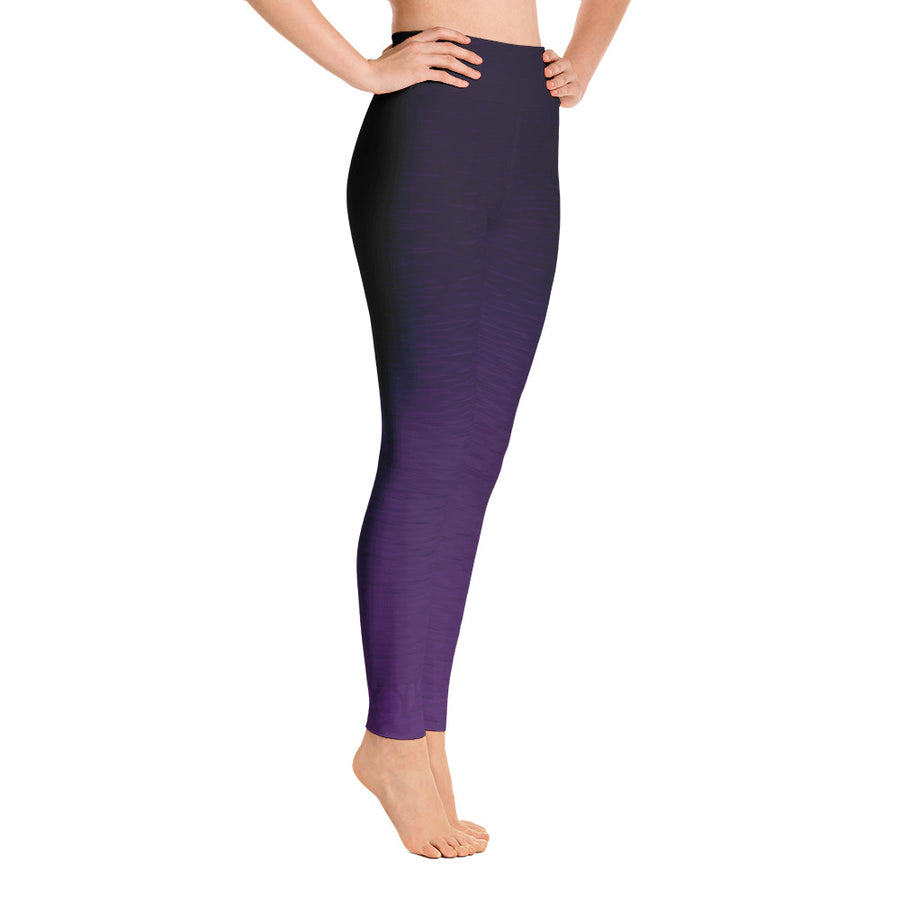 Core Purple High Waist WAYleggings