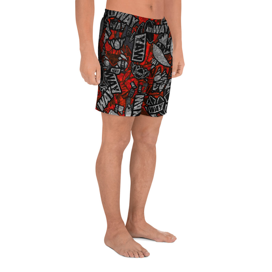 WAYdecay 20 shorts red1