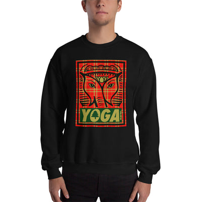 Holiday Plaid Men's Sweatshirt