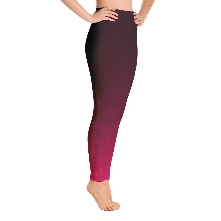 Pink Fade High Waist WAYleggings