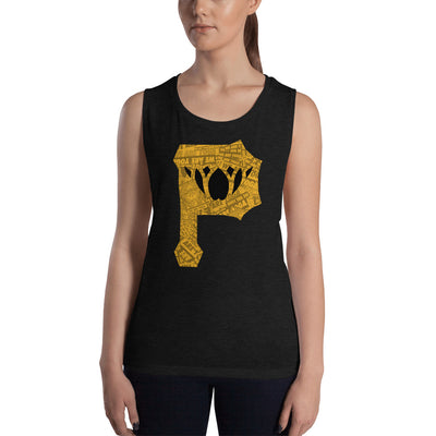 Pirate P-Ladies' Muscle Tank