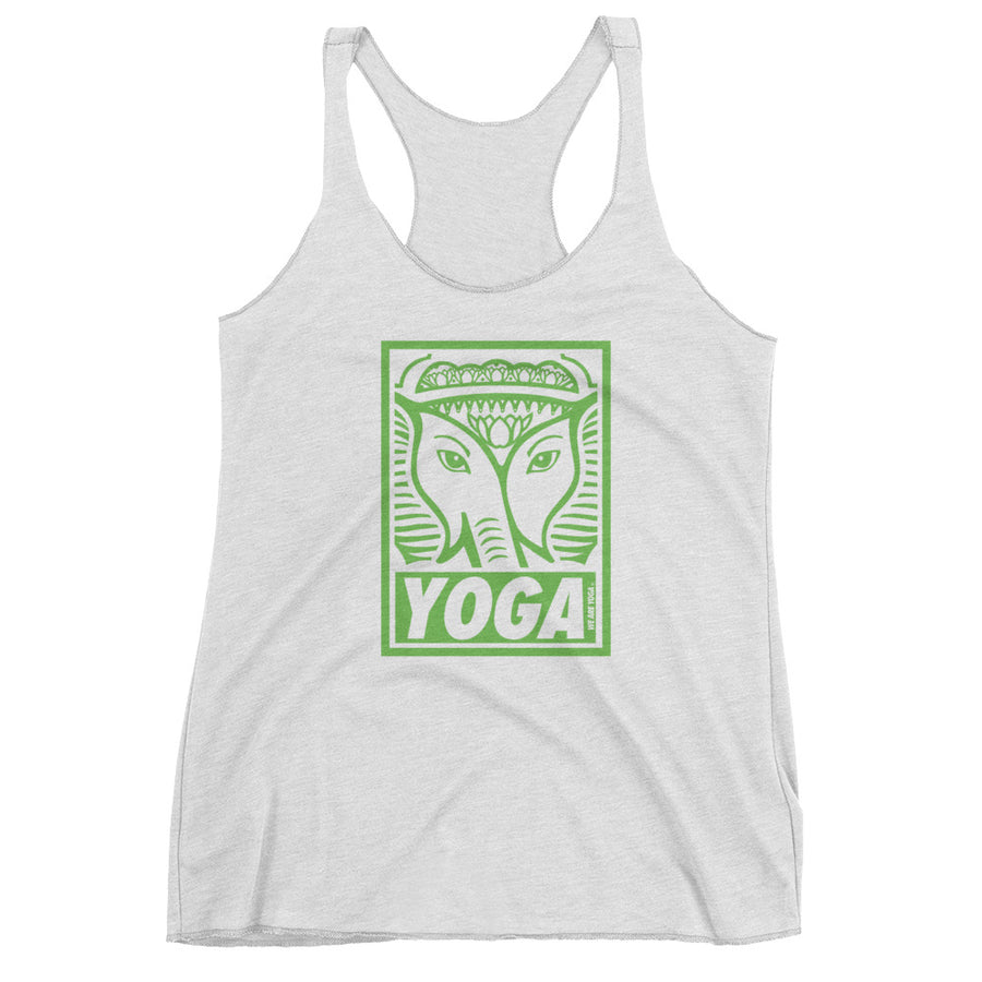 GREEN STAMP-Women's Racerback Tank