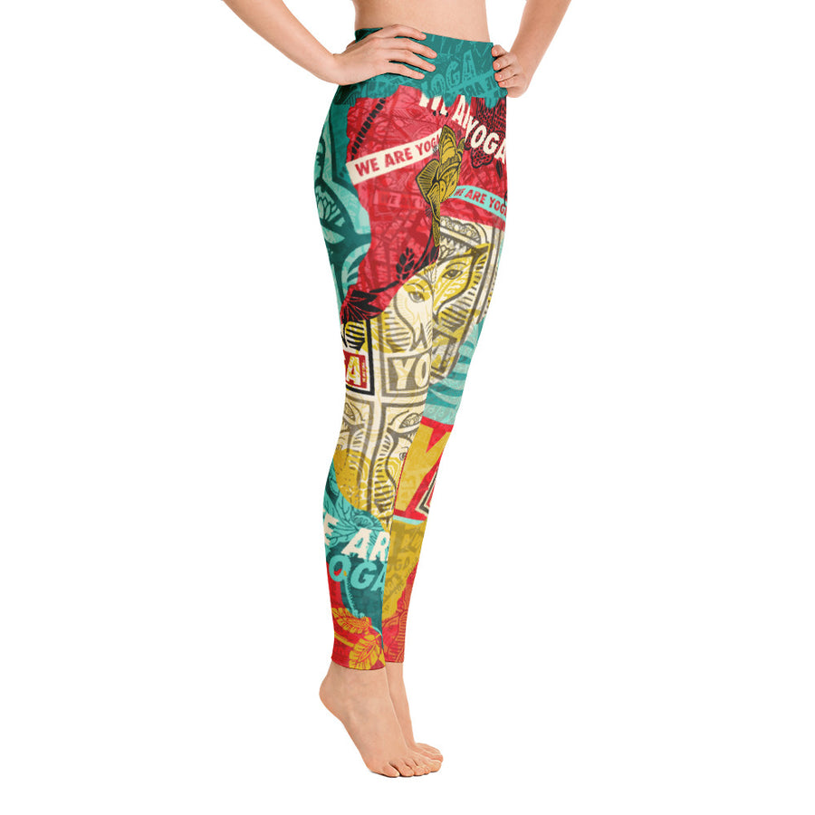 WAY OBEY ELEPHANT-Leggings