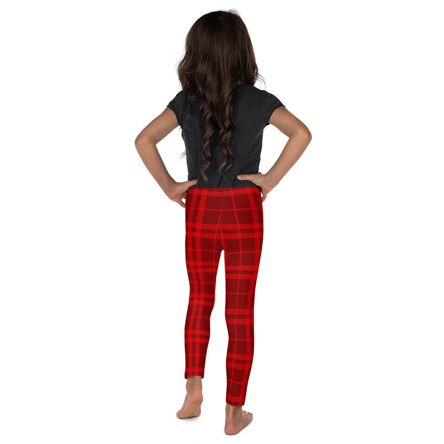 Holiday Plaid Toddler + Little Kids Leggings