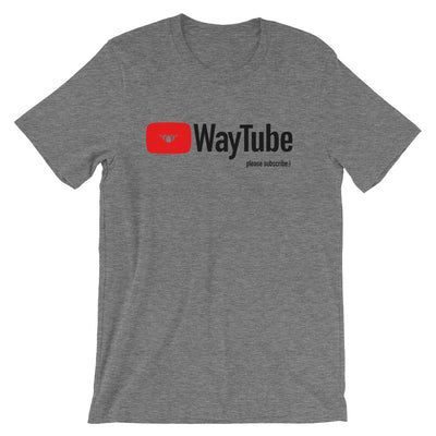 WAYtube-Short-Sleeve Unisex T-Shirt