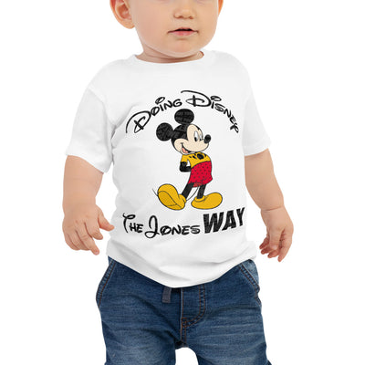 Jones' Disney Baby Jersey Short Sleeve Tee