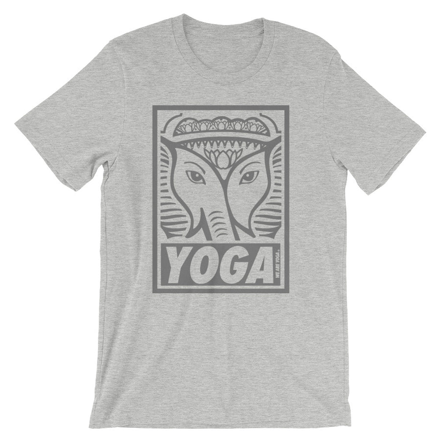 Gray Yoga Stamp Tee Shirt