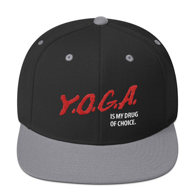 Yoga Drug-Snapback Hat
