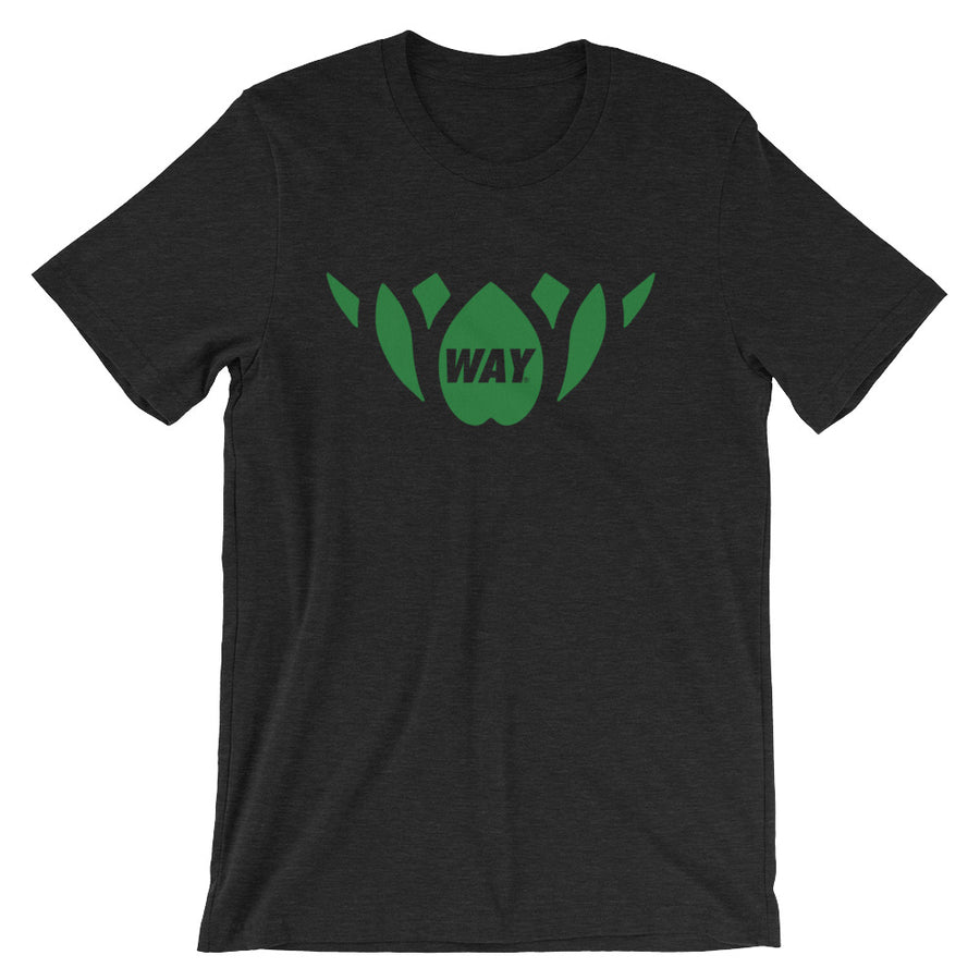 Black + Green Lotus Team Tee