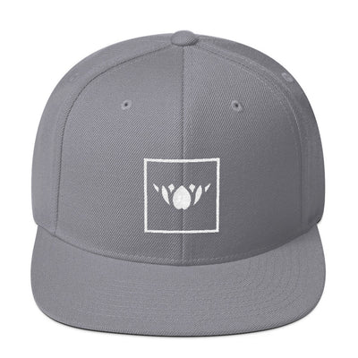 WAYhat-SQUARE Solid Wool Blend Snapback-More Colors