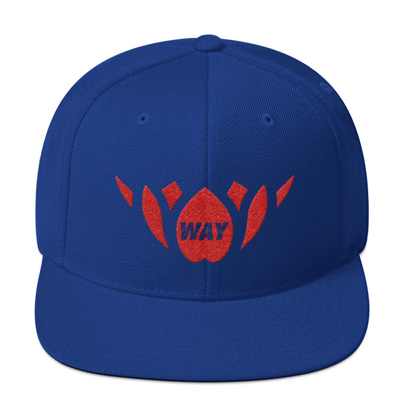 Blue & Red-Snapback Hat