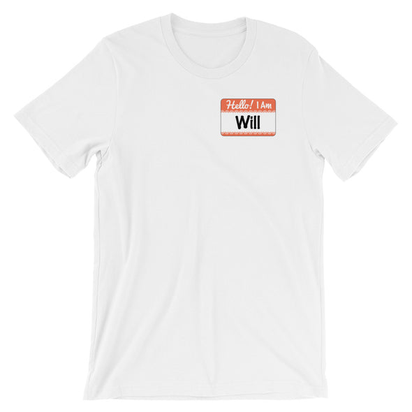 I AM WILL-Short-Sleeve Unisex T-Shirt