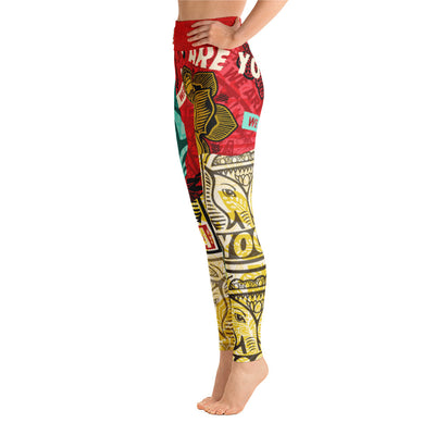 WAY OBEY STAMP-Leggings