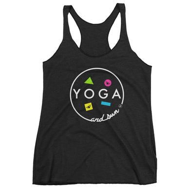 YOGA AND SUN-Women's Racerback Tank