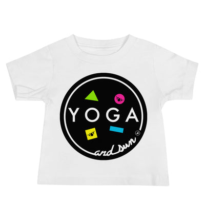 Yoga and Sun Baby Jersey Short Sleeve Tee