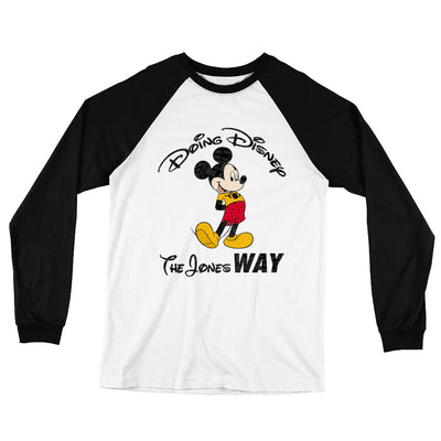 Jones' Disney Long Sleeve Raglan