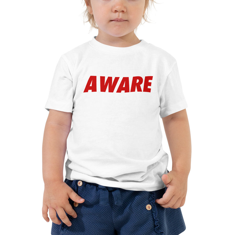 Aware Toddler Tee