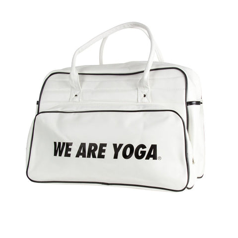 Retro Travel Bag - White
