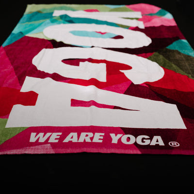 YOGA Kaleidoscope Towel