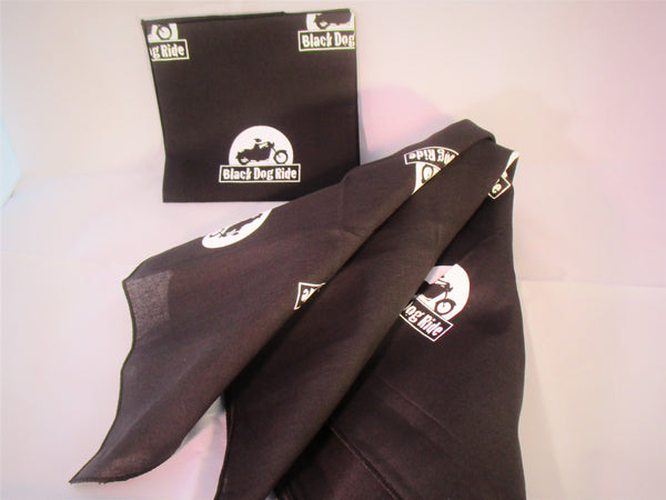 Black Dog Ride Bandanna