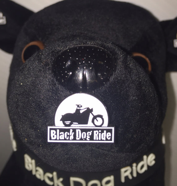 Black Dog Ride Lapel Pin