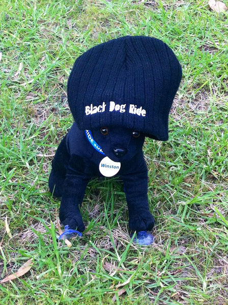 Black Dog Ride Beanie