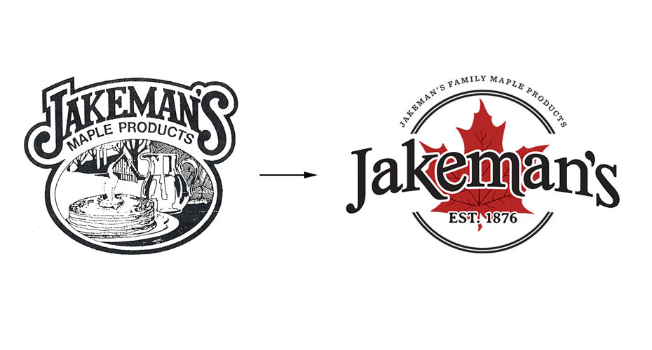 The History of the Jakeman's Maple Products Logo