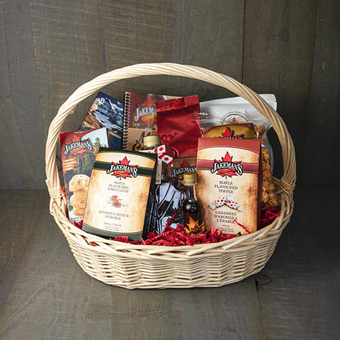 Jakeman's Maple Gift Basket #5