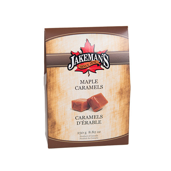 Jakeman's Maple Caramel Candy Box 250 grams