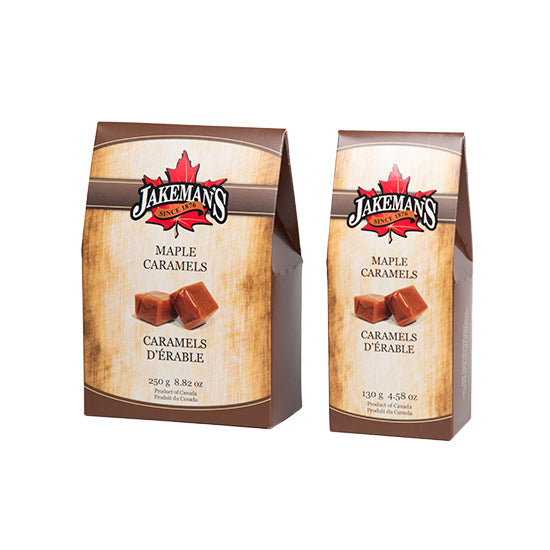 Jakeman's Maple Caramel Candy Collection